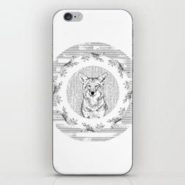 Pack of Coyotes iPhone Skin