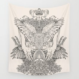 The Ravenous Wall Tapestry