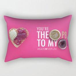 You're the PB to my J Rectangular Pillow