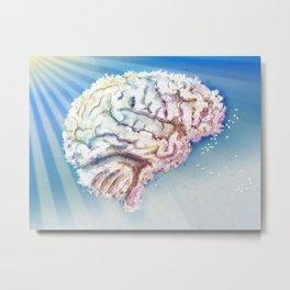 Mind in the Clouds Metal Print