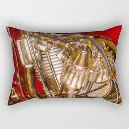 cycle engine Rectangular Pillow