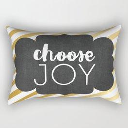 Choose Joy 01 Rectangular Pillow