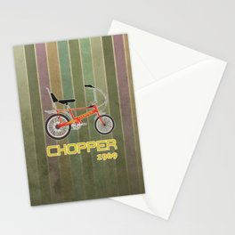 Chopper Bicycle Stationery Cards