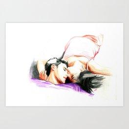 The Romance Art Print