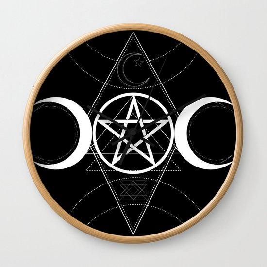Triple Moon Pentagram by christyne