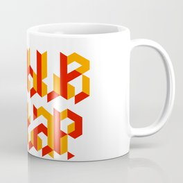 Double tap Coffee Mug