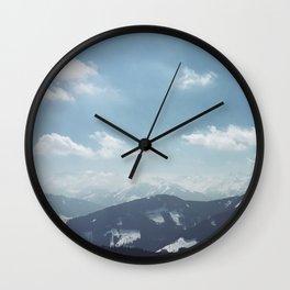 The alps 1 Wall Clock
