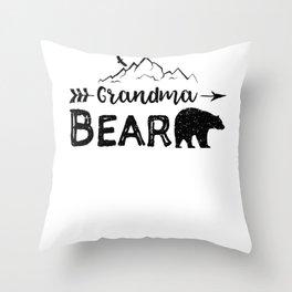 Grandma Bear Throw Pillow