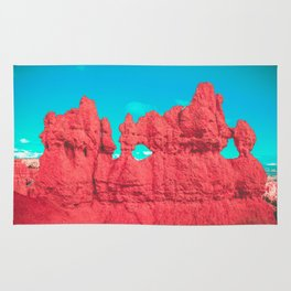 Hoodoo's Voodoo In the Best Possible Way (Bryce Canyon) Rug