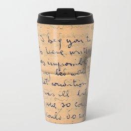 Influenza Metal Travel Mug