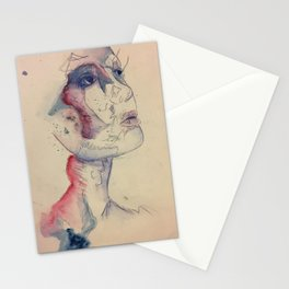Inked in Place Stationery Cards