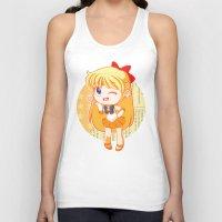 sailor venus Tank Tops featuring Sailor Venus by strawberryquiche