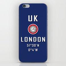 UK London Big Ben iPhone & iPod Skin