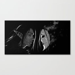 Vax and the Raven Queen Canvas Print