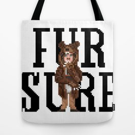 Fur Sure Tote Bag