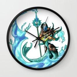 League of Legends - Tideturner Nami Fanart Wall Clock