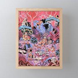 Chaos Framed Mini Art Print