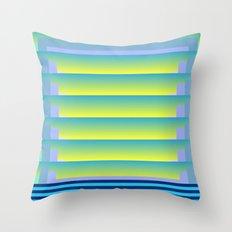 Gradient Fades v.3 Throw Pillow