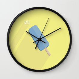 Just Chillin' by Maisie Cross Wall Clock