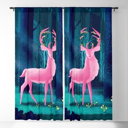 King Of The Enchanted Forest Blackout Curtain