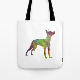 Xoloitzcuintle in watercolor Tote Bag