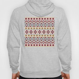 Aztec Essence Ptn III Red Blue Gold Cream Hoody