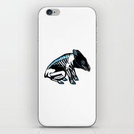 Dia De Tapir iPhone Skin
