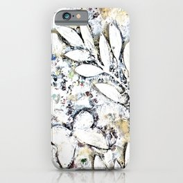 Butterflies - White iPhone Case