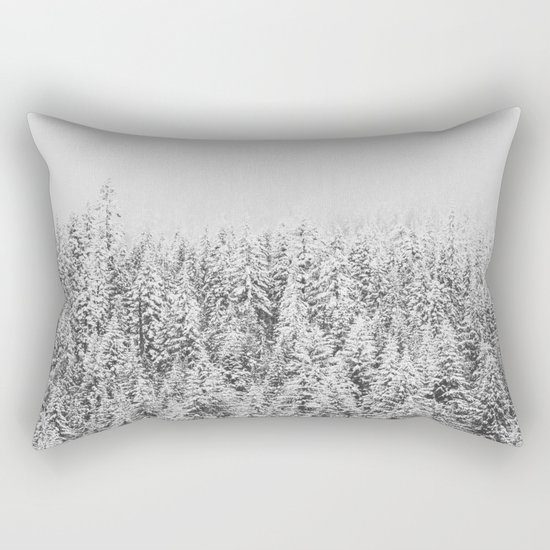 Frozen Winter Rectangular Pillow