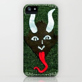 Krampus Sweater iPhone Case