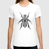 beetle T-shirts featuring Beetle by Rhiannon Foster