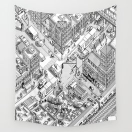 MacPaint project: NYC Wall Tapestry