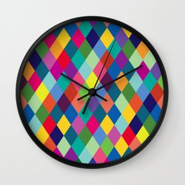 Geometric Pattern #8 Wall Clock
