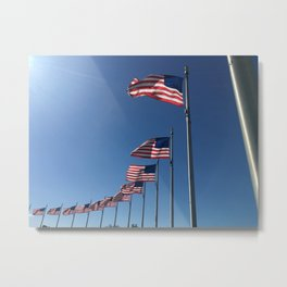 Flag Day Metal Print