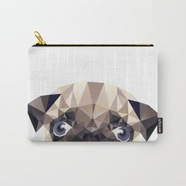 Pug Diamonds Carry-All Pouch