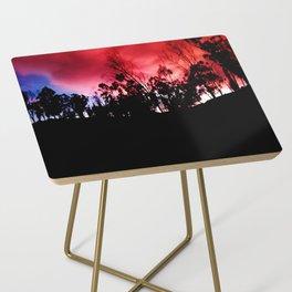 Intense mountain. Side Table