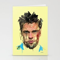 tyler spangler Stationery Cards featuring Tyler by Marcello Castellani