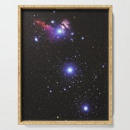 Glitter Galaxy Serving Tray