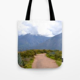 Le chemin Tote Bag