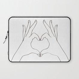 Love Heart Laptop Sleeve