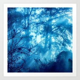 Foggy Tales Art Print