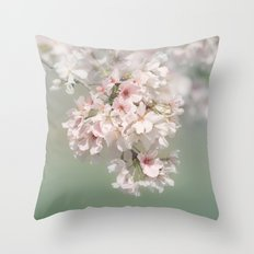 Dreaming of Spring Throw Pillow