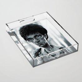 Scarface Acrylic Tray
