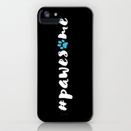#pawesome iPhone Case