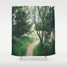 Happy Trails IX Shower Curtain