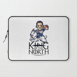 Tom Brady - king of the north Laptop Sleeve