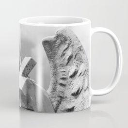 Angel and Cross II Coffee Mug