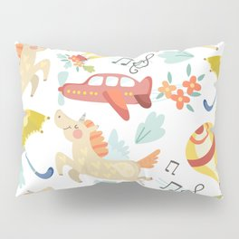 Unicorn Song Pillow Sham