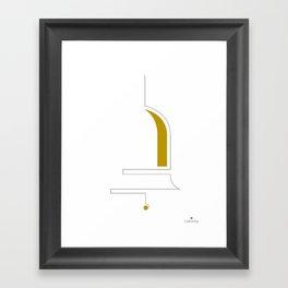 Jingle Bell Framed Art Print
