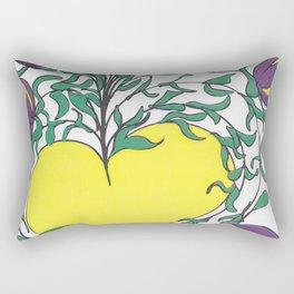 Yellow Light Rectangular Pillow